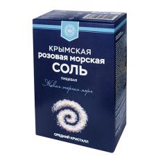 Крымская Соль (морская пищевая садочная среднего помола), 0,75 кг.