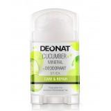 """Дезодорант-Кристалл """"ДеоНат""""с экстрактом огурца, стик 100 гр."""