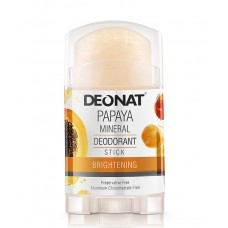 "Дезодорант-Кристалл ""ДеоНат""с экстрактом папайи, стик 100 гр."