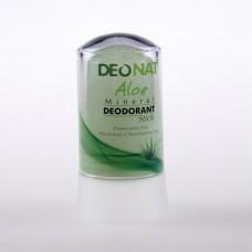 Минеральный дезодорант стик «Деонат» с экстрактом алое и глицерином, малый