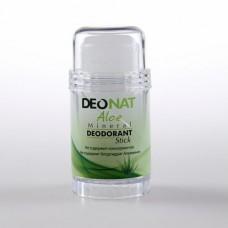 Минеральный дезодорант стик «Деонат» с экстрактом алое и глицерином, средний