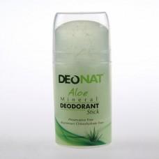 Минеральный дезодорант стик «Деонат» с соком алое, большой выдвигающийся