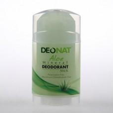 Минеральный дезодорант стик «Деонат» с соком алоэ, большой вывинчивающийся