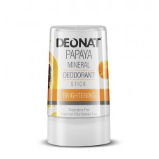 "Дезодорант-Кристалл ""ДеоНат""с экстрактом папайи, стик 40 гр."