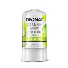 """Дезодорант-Кристалл """"ДеоНат""""с экстрактом огурца, стик 60 гр."""