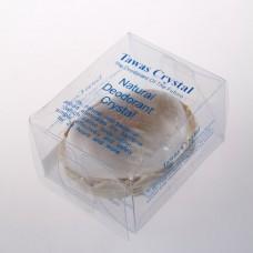Кристалл в корзинке и пластиковой коробке большой