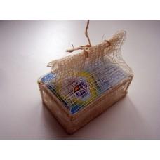 Брусок с глицерином в шкатулке из пальмы Рапия